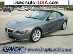 Car Market in USA - For Sale 2007 BMW 6 Series Convertible