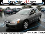Car Market in USA - For Sale 2007 Honda Accord Sedan EX-L 