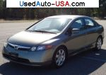 Car Market in USA - For Sale 2006  Honda Civic Sedan LX Automatic