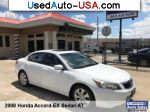 Car Market in USA - For Sale 2008 Honda Accord EX
