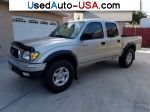 Car Market in USA - For Sale 2001  Toyota Tacoma